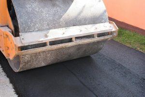 Asphalt Roller Vehicle for New Asphalt