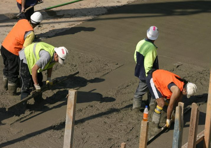 Good workers for cement